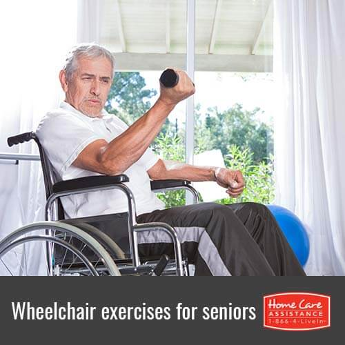 Exercises for Wheelchair Bound Seniors in Rhode Island