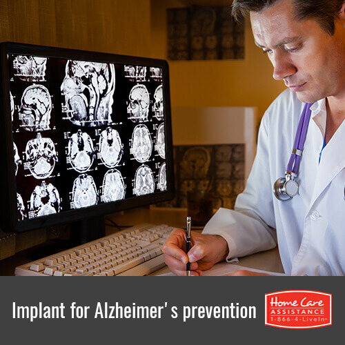 How a New Implant Might Prevent the Onset of Alzheimer's in Rhode Island