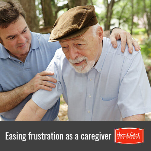 Frustration Relief Tips for Dementia Caregivers in South Kingstown, RI