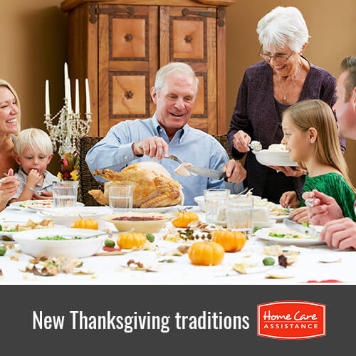 Starting a New Thanksgiving Tradition with Your Elderly Loved One in South Kingstown, RI