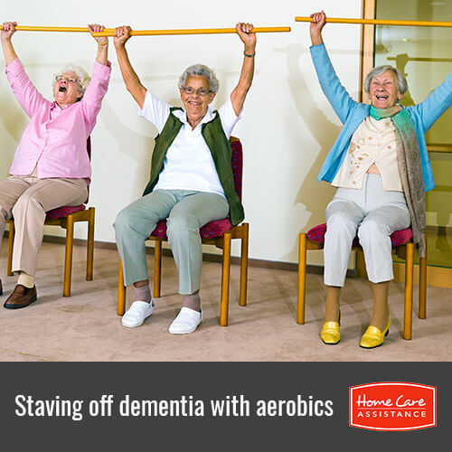 Staving Off Dementia in Seniors with Aerobics Exercises in South Kingstown, RI