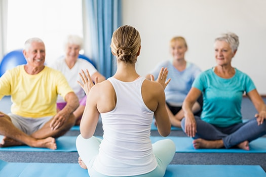Why Aging Adults Should Take Up Yoga in Rhode Island, TN