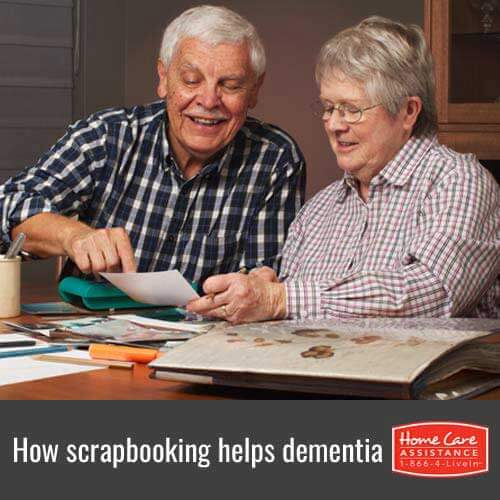 How Seniors with Dementia Benefit from Scrapbooking in Rhode Island