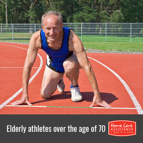 Inspirational Elderly Athletes Over 70 in Rhode Island